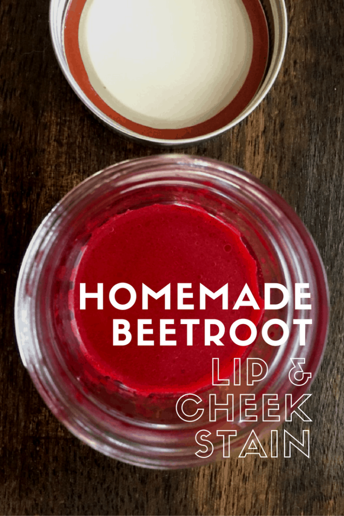 Make your own DIY Lip & Cheek Stain out of beets! Recipe from The Zero Waste Memoirs.