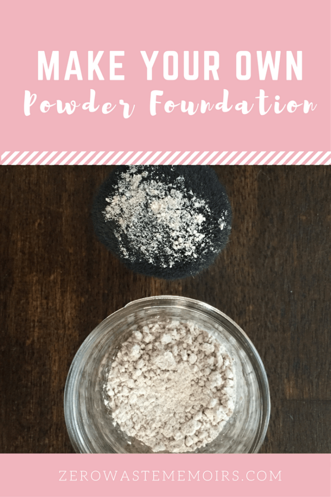 Make Your Own Powder Foundation! Tutorial via The Zero Waste Memoirs