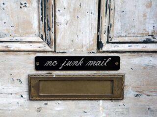 How to get rid of junk mail for good