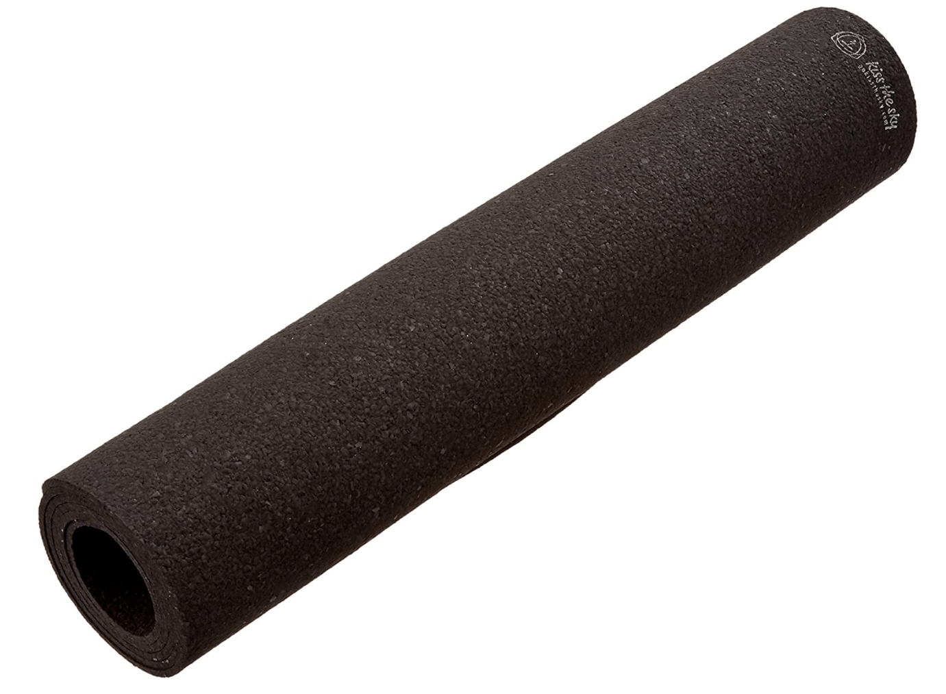 Recycled rubber yoga mat