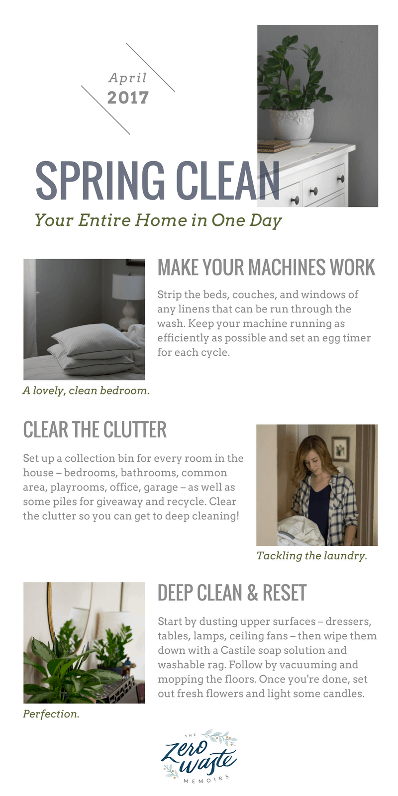 How To Spring Clean Your Entire House In One Day The