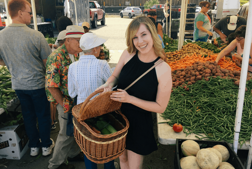 Our Visit to the Downtown Cheyenne Farmer's Market