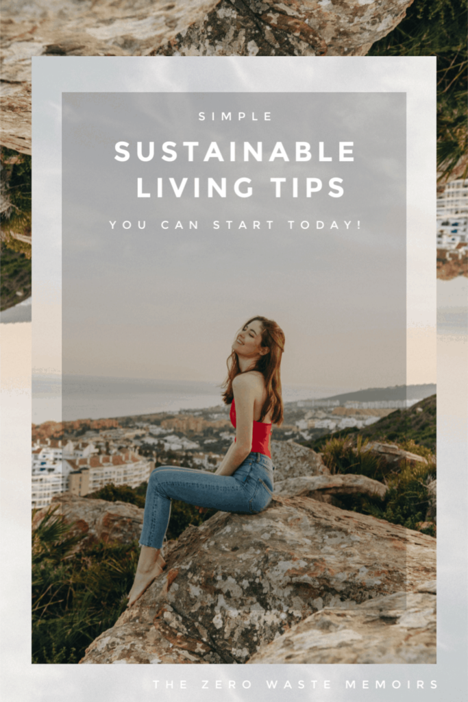 Practical sustainable living tips for every day living. Find simple ways you can start living a more eco-friendly lifestyle right here!