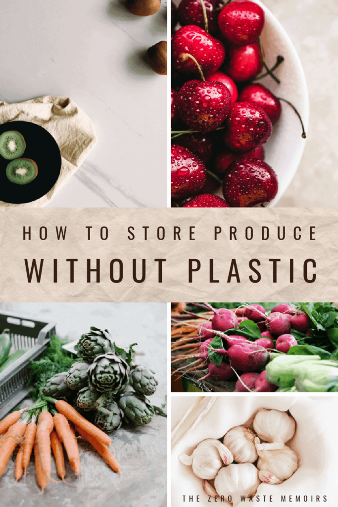 Find out how to store produce without plastic - and extend the life of your fruit & vegetables!