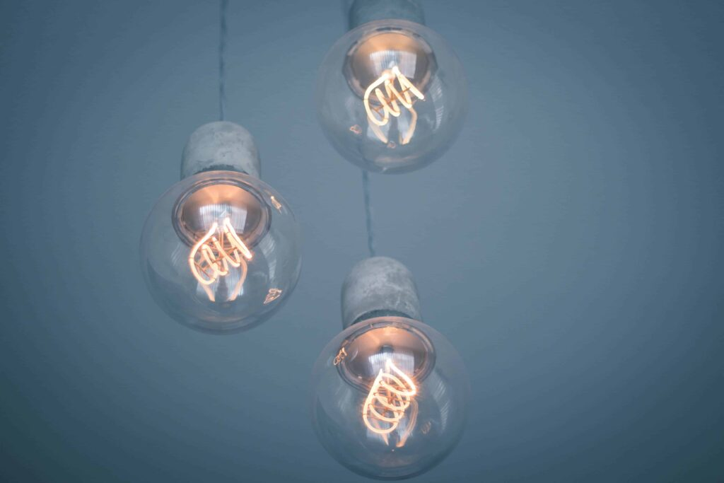 Sustainable living tips - replacing your lightbulbs