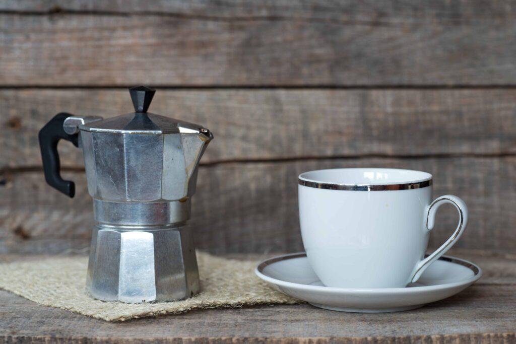 Moka pots can be used to make zero waste coffee