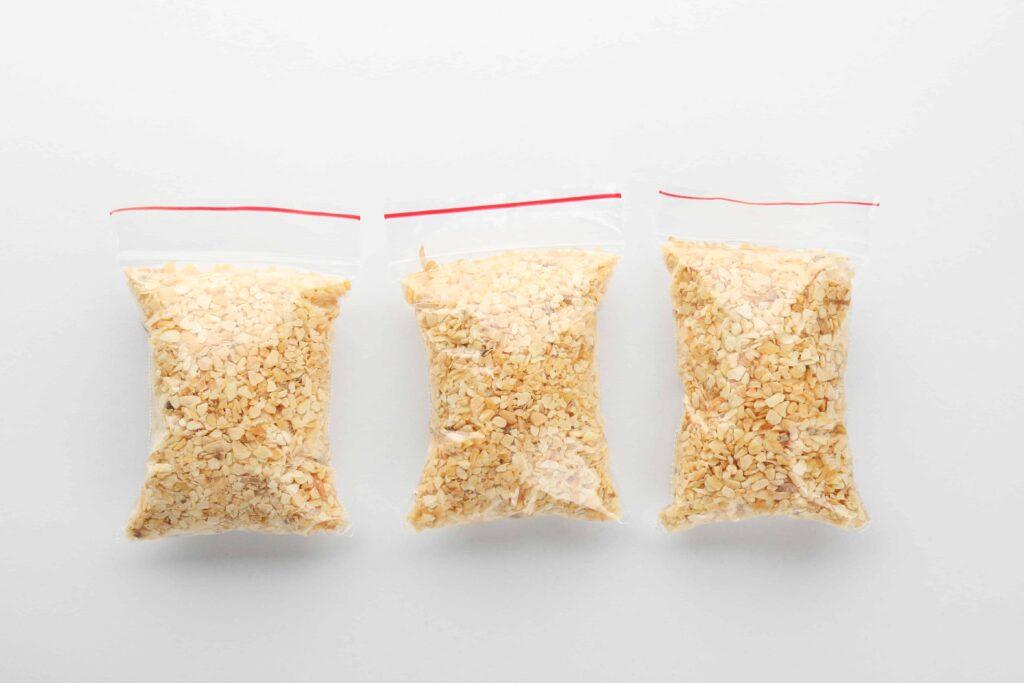 Alternatives to ziploc bags